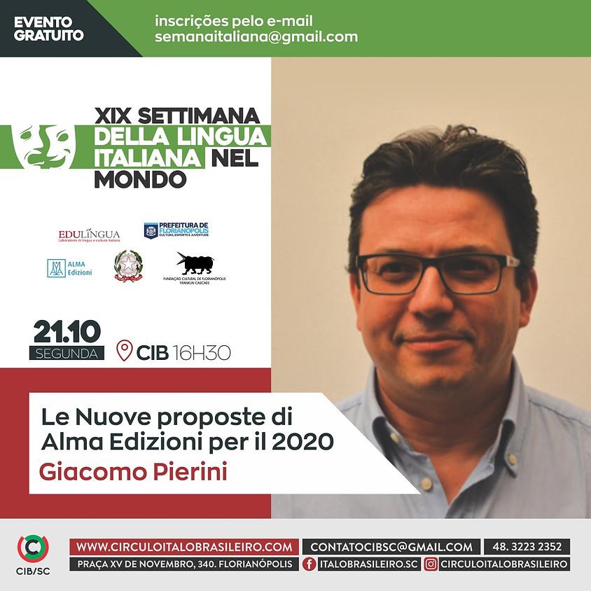 Le Nuove proposte di Alma Edizioni per il 2020 Giacomo Pierini
