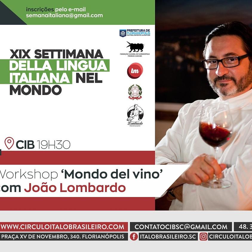 Workshop mondo del vino com João Lombardo