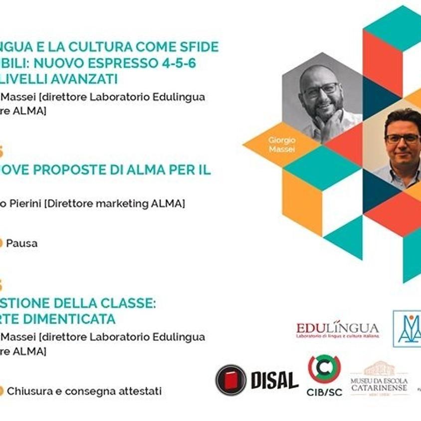 CURSO DE FORMAÇÃO PARA PROFESSORES DE ITALIANO