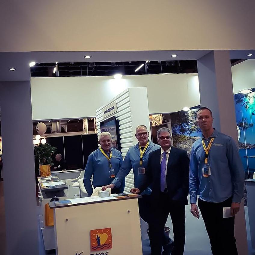 Teuvo, Antsu, mr ambassador Georgios Zodiatis and Johan.