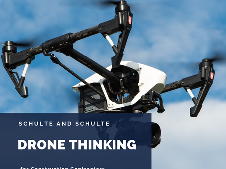 Drone Thinking in Construction Contracting