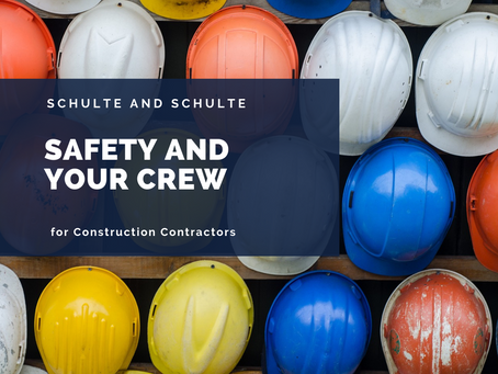 Safety and Your Construction Crew