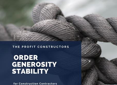 Order Generosity Stability