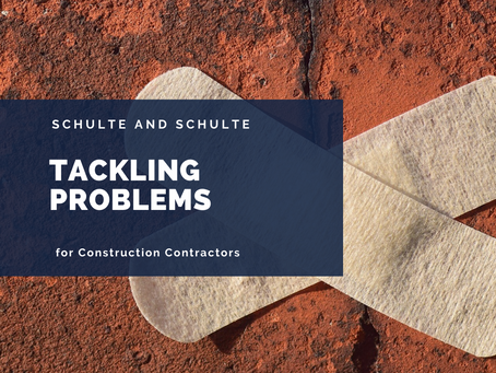 Tackling Problems in Your Construction Business