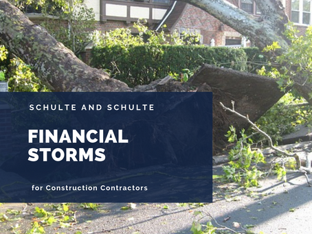 Weathering Financial Storms in Your Construction Business