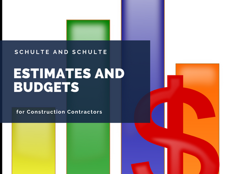 Budgeting and Estimating