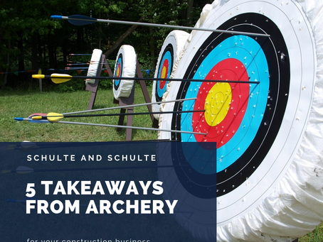 5 Construction Takeaways from Archery