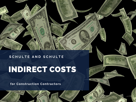 Indirect Costs in Construction Contracting