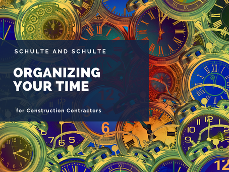 Organizing Time in the Construction World