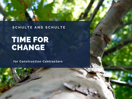 Change Your Construction Business