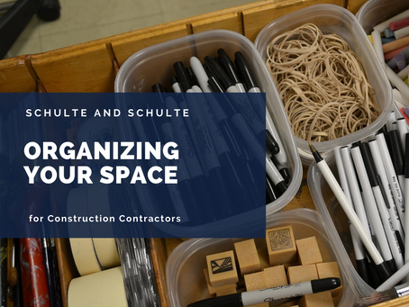 Organize Your Construction Office Space