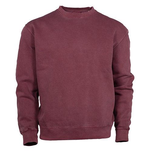 30028  Pigment Dyed Fleece Crew