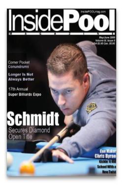 Inside Pool Magazine Cover
