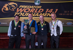 John with 1st Place Predator Win