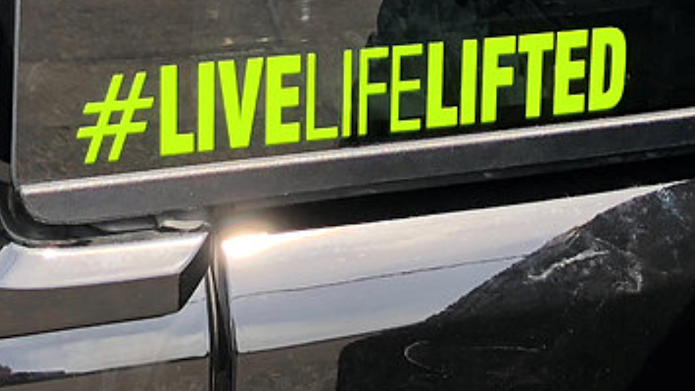 LiveLifeLifted Decal