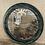 Thumbnail: Round velvet covered mirror