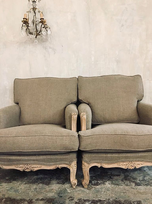 Pair of stunning armchairs