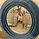 Thumbnail: Round velvet mirror