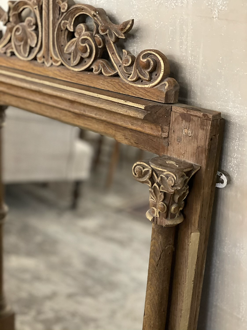 Sweet wooden mirror