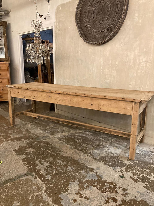 2 plank pine table