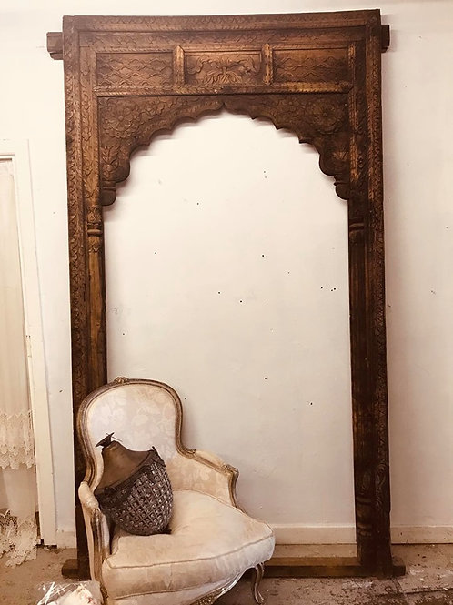 Beautiful carved Indian frame
