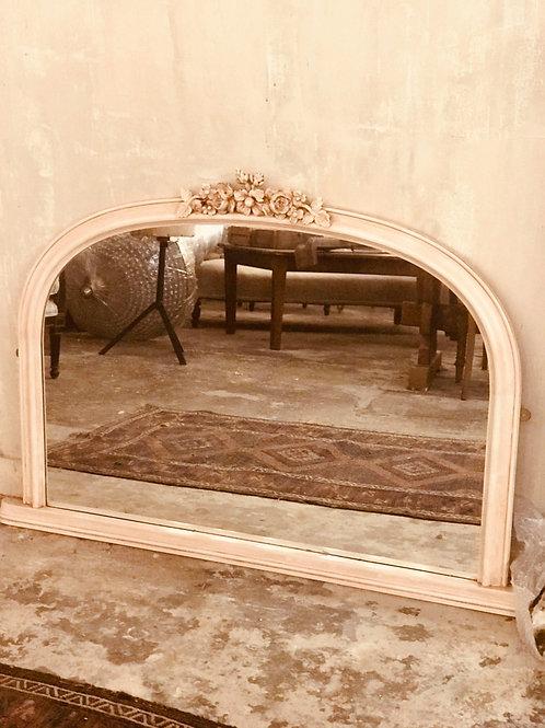 Lovely over mantel mirror