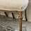 Thumbnail: 4 linen covered dining chairs