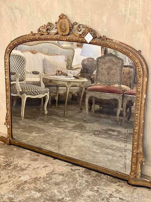 Stunning over mantel mirror