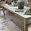 Thumbnail: Fab chippy white dining table