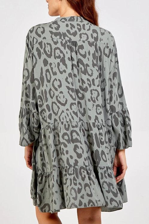 Short leopard top/dress