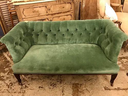 Beautiful button back sofa