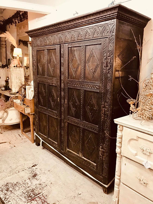 Gorgeous carved cupboard