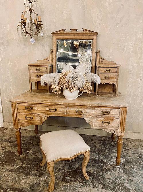 Pretty pine Edwardian dressing table
