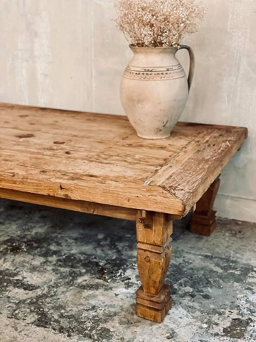 Lovely rustic coffee table