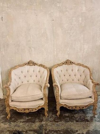 Stunning pair of armchairs