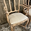 Thumbnail: Pair of French reupholstered chairs