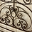 Thumbnail: Cast iron decorative headboard