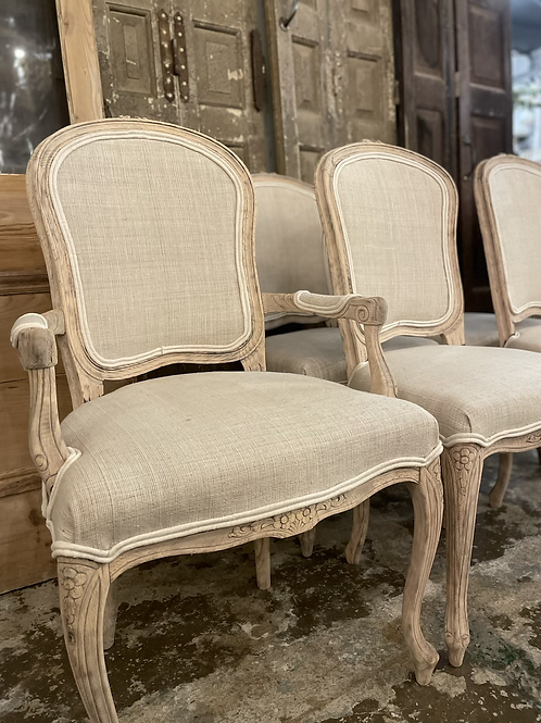 Set of 6 French dinning chairs