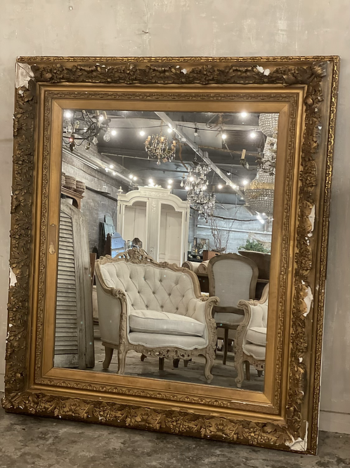 Fabulous French mirror
