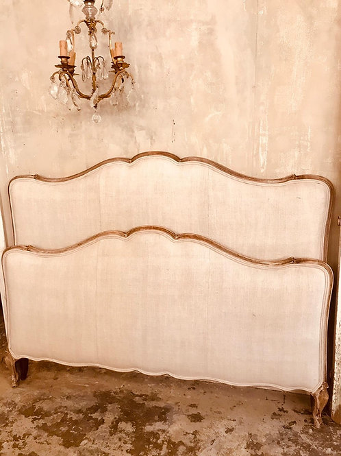 Beautiful blasted French cloud bed