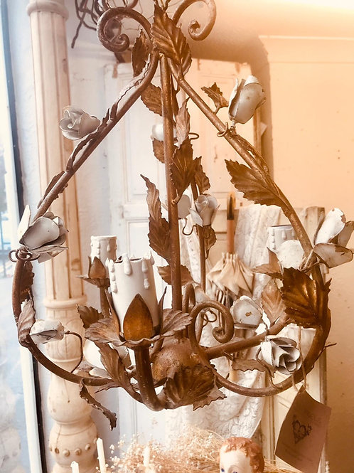 Pretty little French chandelier