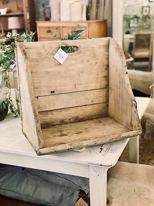 Rustic Wooden Wash Stool