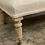 Thumbnail: Linen covered foot stool