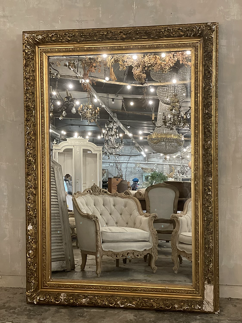 Stunning French mirror