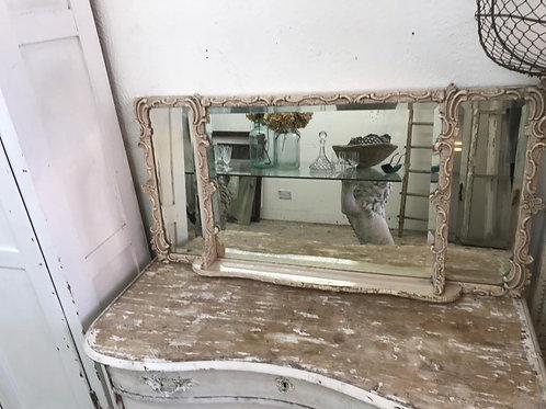 Pretty over mantle mirror