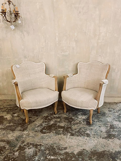 Beautiful pair of French armchairs