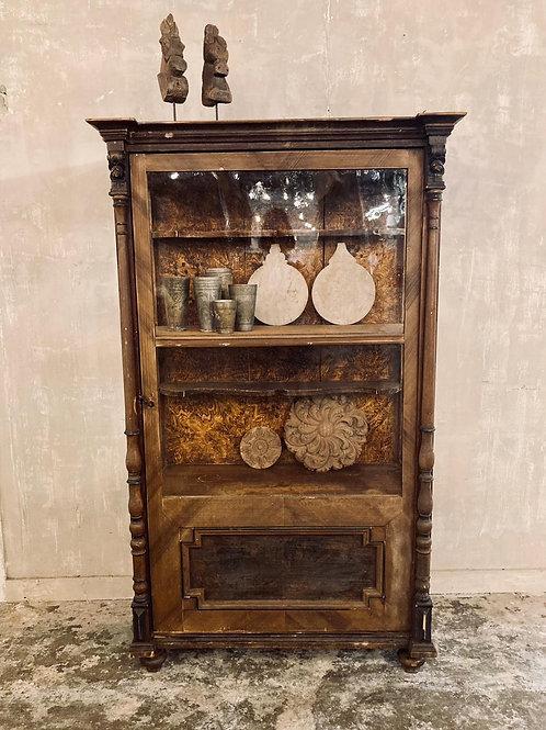 Pretty little glazed cupboard