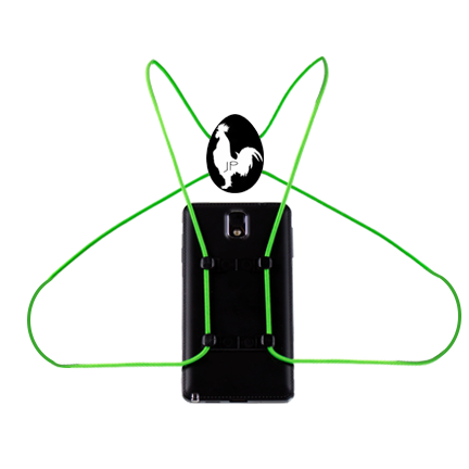 RoosterWrap Neon Green