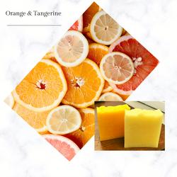 tangerine and orange