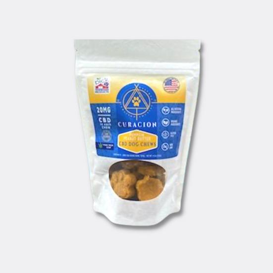 20mg CBD Dog Chews - Pumpkin Peanut Butter